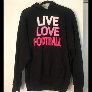 Live Love Football Hoodie 💗🏈